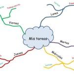 Organizar el temario con mapas mentales