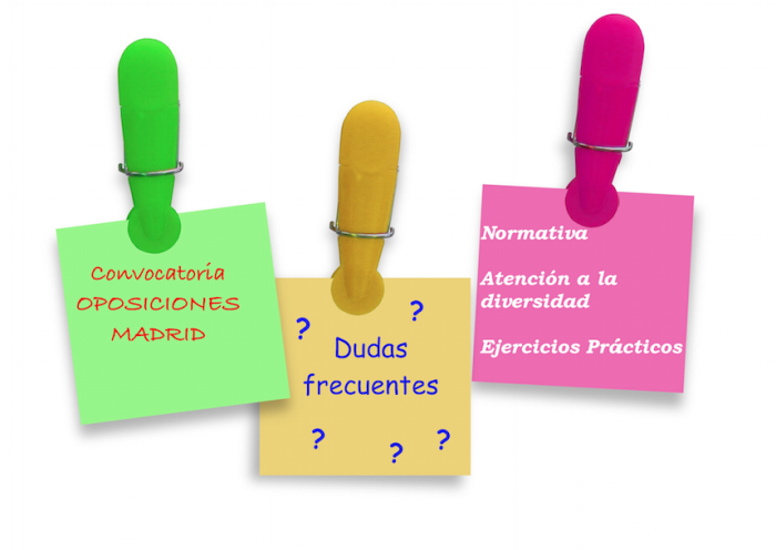 Convocatoria oposiciones Madrid 2015