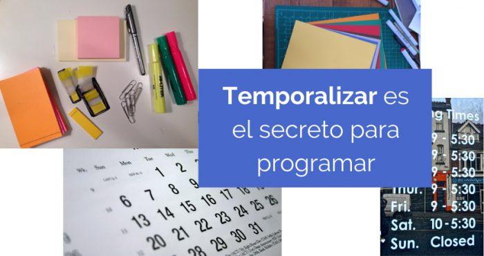 Programación didáctica: la temporalización