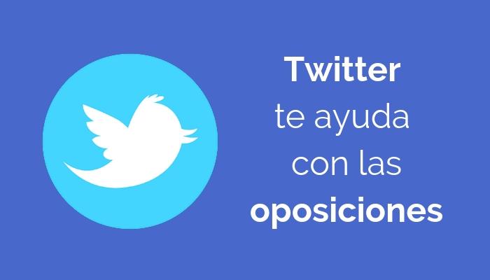 Twitter para preparar las oposiciones