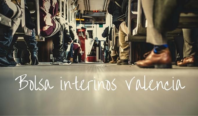 Bolsa de interinos Valencia