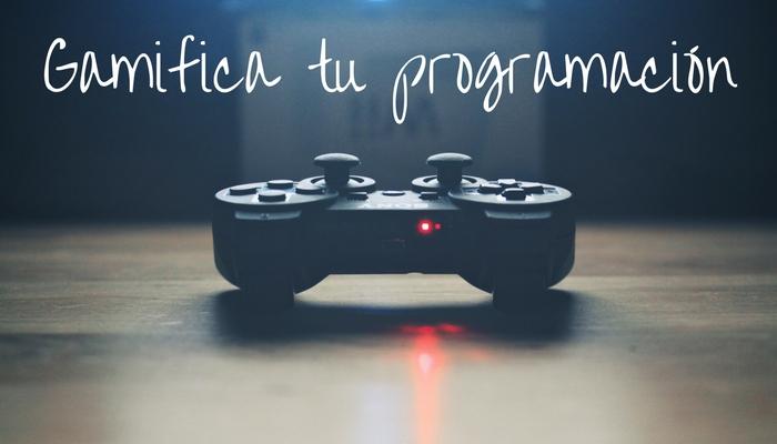Introduce la gamificación en tu programación didáctica