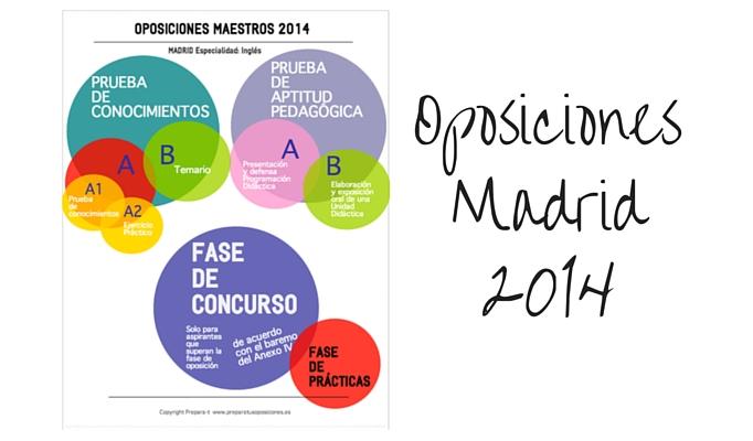 Cómo son las pruebas de las oposiciones Madrid 2014