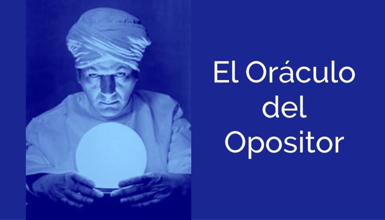 Consultorio de oposiciones El Oráculo del Opositor