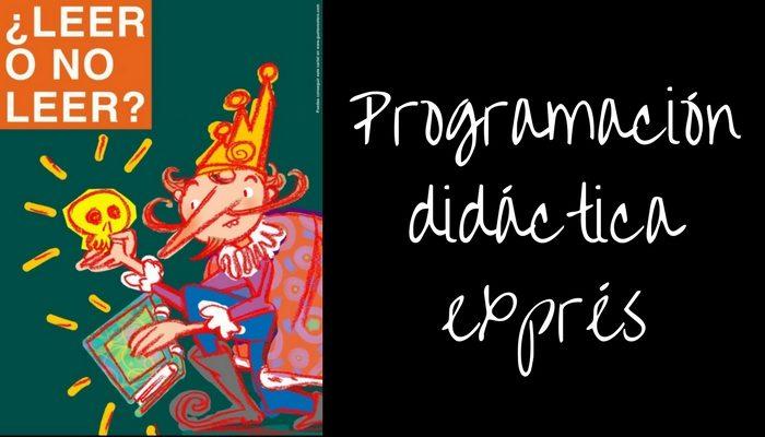 Programación didáctica exprés